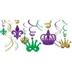 Mardi Gras Food, Mardi Gras Beads, Mardi Gras Party, Mardi Gras Decorations, Streamer Decorations, Hanging Decorations, Mardi Gras Costumes, Kids Party Supplies, Party Stores