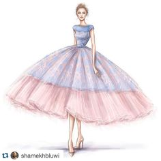 Rose Quartz and Serenity 2016 #colorsoftheyear this would be the perfect outfit for OBRFW III's Big Night Out!