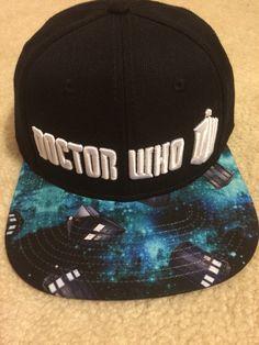 c9081c47415 Doctor Who SnapBack Blue Box