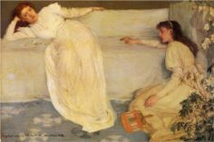 Symphony+in+White,+No.+3+-+James+McNeill+Whistler