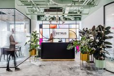 Ceetrus, a real estate developers that owns Auchan shopping parks, hired architectural studio Workplace Solutions to design their new office in Warsaw, Office Girl, Human Centered Design, Corporate Office Design, Interior Architecture, Interior Design, Play Pool, Waiting Area, Co Working, Cool Apartments