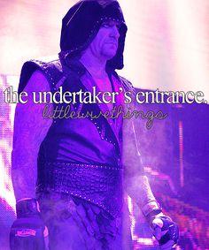 Undertaker's entrance Undertaker Dead, Dolph Ziggler, Stone Cold Steve, Lucha Underground, Wwe Tna, Wwe World, Steve Austin, Aj Styles, John Cena