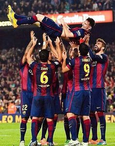 Fc barcelona wonderful game guys and congrats to Messi!!