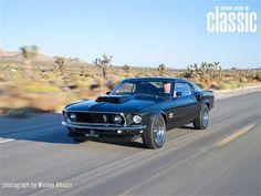 Ford Mustang Boss 429 1969 Black Jade