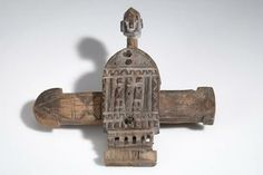 Dogon door lock before 1963, Mali