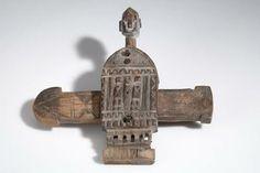 Dogon door lock before 1963, Mali