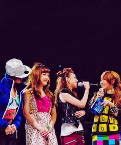 #2NE1 #Minzy #Bom #Dara #CL