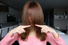 layered hair cut from Sarah Anguis