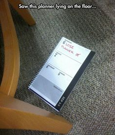 Too Bad They Didn't Write 'Find Planner'