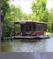 $10/hr boat rentals for exploring the Atchafalaya. from Houseboat Adventures
