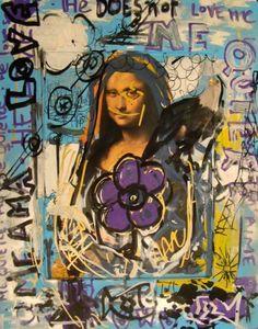 Mi Mona Lisa 3 [Domingo Zapata] (Gioconda / Mona Lisa)