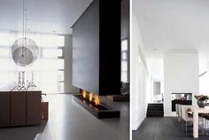Linear Fireplace, Home Fireplace, Modern Fireplace, Fireplace Mantels, Design Case, Hearth, Family Room, New Homes, Contemporary