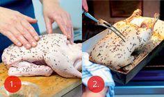 Pomalu pečená kachna | Apetitonline.cz Holiday Recipes, Turkey, Meat, Chicken, Breakfast, Morning Coffee, Turkey Country, Cubs