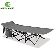 Alpha Camp Oversized Camping Cot Supports 600 Lbs Sleeping Bed Folding Gray for sale online Camping Cot, Camping Stuff, Travel Light, Carry On Bag, Outdoor Furniture, Outdoor Decor, Camping Furniture, Picnic Table, Steel Frame