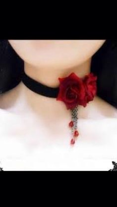 Cute vampire necklace