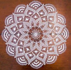 Ravelry: Pretty Baby Doily pattern by Elizabeth Hiddleson si trova a pagamento Free Crochet Doily Patterns, Crochet Motif, Crochet Designs, Knitting Patterns, Crochet Coaster, Crochet Art, Thread Crochet, Filet Crochet, Crochet Stitches