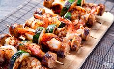 Can't let go of grilling season quite yet? Hang onto it with these cajun BBQ skewers - so quick, you can grill them even when it's cold out!