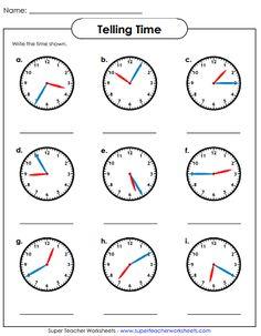 64 best telling time worksheets images in 2014 telling time printable worksheets worksheets. Black Bedroom Furniture Sets. Home Design Ideas