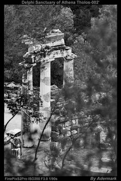 Delphi Sanctuary of Athena Tholos ,by Aderstudio