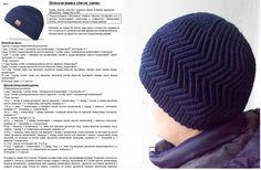 Мужская шапка крючком и спицами: схема и описание. Как связать мужскую шапку спицами с отворотом, бини, шахматку, ушанку, «Зигзаг удачи», чулок, с помпоном?