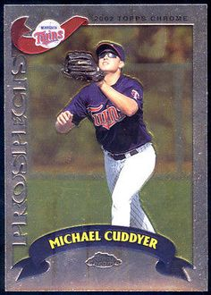 Rockies Minnesota Twins 2002 Chrome Traded Prospects Michael Cuddyer NMMT | eBay