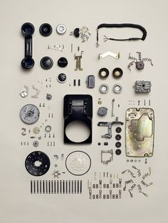 Canadian photographer Todd Mclellan project - reveals the result of his technological destruction in a new book called Things Come Apart.    The book aims to display the inner workings of some of the world's most iconic technology - and how they are put together.