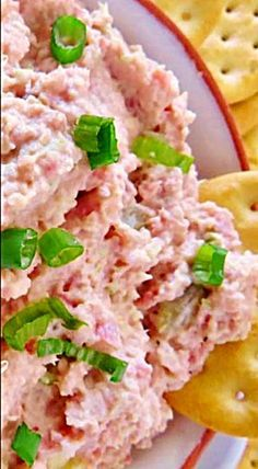 Ham Salad - this pairs up beautifully on a cracker or biscuit and served with a simple soup such as creamy pea or tomato soup. ❊