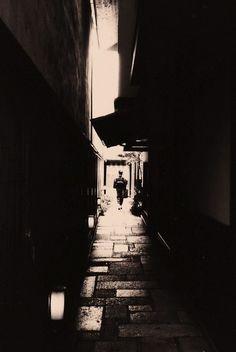 Back alley of Kyoto, Japan 京都