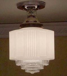 Trendy Ideas For Art Deco Bedroom Vintage Light Fixtures Lampe Art Deco, Art Deco Chandelier, Art Deco Lighting, Chandelier Ceiling Lights, Vintage Lighting, Chandeliers, Bedroom Light Fixtures, Vintage Light Fixtures, Kitchen Lighting Fixtures