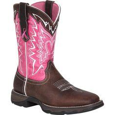 Durango Women's Pink Ribbon Lady Rebel Western Boots