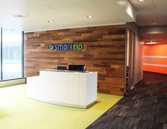 Refresh your office, lobby or conference room with Stikwood!