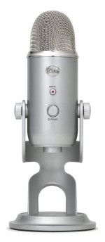 Product Description:Color: SilverCreate unparalleled recordings and send them directly to your computer with Blue Microphone's Yeti USB Microphone. The Yeti Best Usb Microphone, Blue Yeti Usb Microphone, Radios, Blue Microphones, Audiophile Headphones, Ipad, Audio Music, Red Bull Racing, Tablet Computer