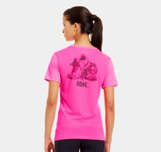 reputable site 75838 b979a Women s UA Done T-Shirt   1239125   Under Armour US Athletic Gear, Athletic