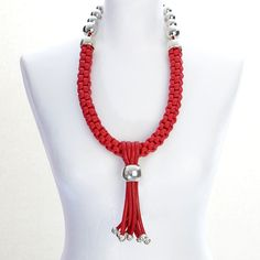 G.extreme/red+bubbles 1505 GO EXTREME NECKLACE  code: G.extreme/red+bubbles 1505