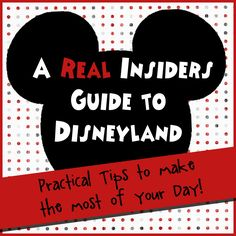 REAL tips and PRACTICAL information that will help you make the most of your day at Disneyland. A must read if you are planning a trip! Disney Love, Disney Tips, Disney Parks, Disney Magic, Walt Disney, Disney Nerd, Disney Recipes, Disney Secrets, Disney Stuff