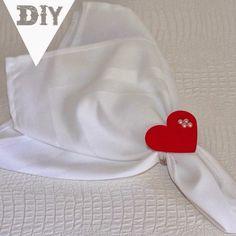 Diy: porta guardanapo de coração de papel