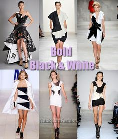 Spring 2010 New York Fashion Week Trends: Excited For… Bold Black & White