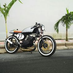 Hail to The King !! Yamaha RX-King 135 CC 2 Stroke Cafe Racer