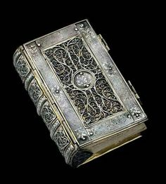 Book ca 1600 I absolutely love this!  Such beautiful craftsmanship!