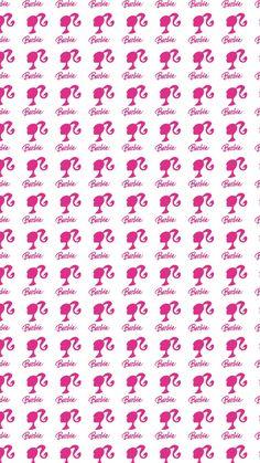 Barbie wallpaper pattern