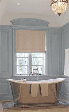 Custom French paneling - traditional - bathroom - dallas - Hull Historical