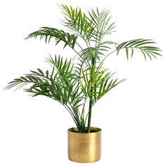 Kruka borstat guld S. 10x9 cm. Blomkruka i borstad metall. Finns i flera färger och storlekar.