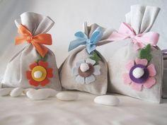 borsette portaconfetti per battesimo feltro - Cerca con Google