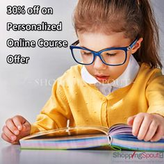 30% off on Personalized #Online Course Offer at #giftedandtalented  #Coupons
