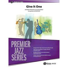 Alfred Give It One Jazz Band Grade 4.5 Set