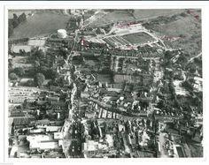 BICESTER TOWN RAILWAY STATION c1972 aerial photo vintage Aerofilms | eBay