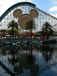 Disney California Adventure Park at Anaheim. We simply love this place. The kids love the Pixar theme at the park.