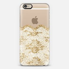 Faux Gold and White Romantic Lace iPhone 6 Case by Organic Saturation   Casetify. Get $10 off using code: 53ZPEA