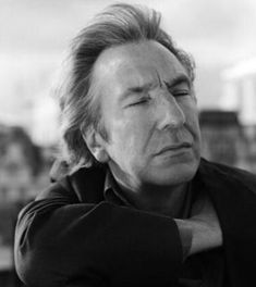 1997 - This is a photo of Alan Rickman taken during a photo-shoot Alan had with David Harrison. Uk Actors, British Actors, Actors & Actresses, Hollywood Stars, Classic Hollywood, Alan Rickman Movies, I Look To You, Alan Rickman Severus Snape, People Of Interest