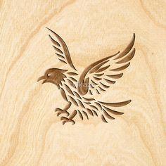 Eagle ~ Wood Carved